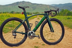 Trek has radically redesigned the 2016 Madone, turning it into a full-blown aero road racing machine but yet still compromising little to do so