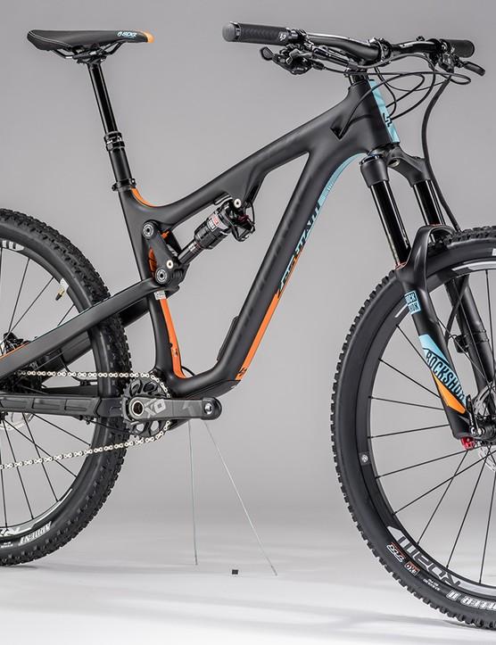The all new Zesty AM has a lighter frame plus longer and slacker geometry