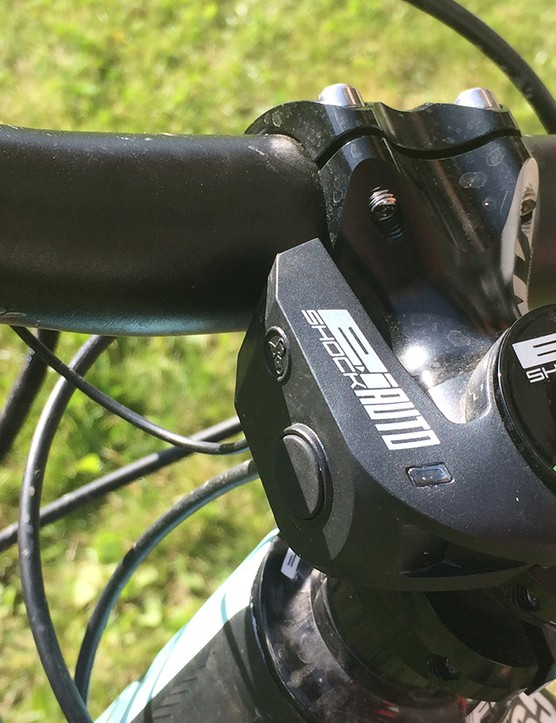 Lapierre's smart E:I shock is available on a number of models