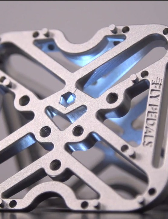 Fly Pedals are a clipless pedal adapter that converts your road or mountain bike pedals into flats
