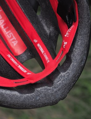 One of the keys to a well ventilated helmet is lots of open space around the brow, which the Bontrager Ballista has in spades