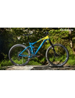 Merida's 140mm frame isn't new, but the geometry has been updated