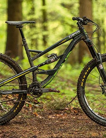 The AL 1 packs a similar punch to the carbon Capra, at an even lower price