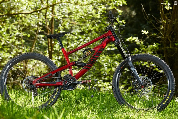 Canyon's Torque DHX Rockzone downhill rig is a grin-inducing companion