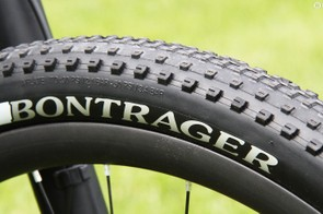 Rolling stock comes in the form of Bontrager's fast-rolling XR1 Team Issue treads