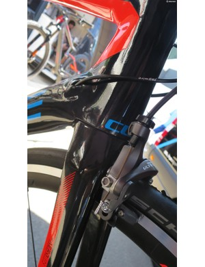 The new Agree uses direct mount brakes front and rear