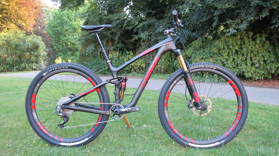 80016aaa43f The Trek Fuel EX 29er range gets updated for 2016. Pictured is the range  topping