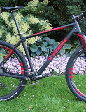 Trek's new Procaliber XC race machine ready to roll - pictured is the 2016 9.9 SL