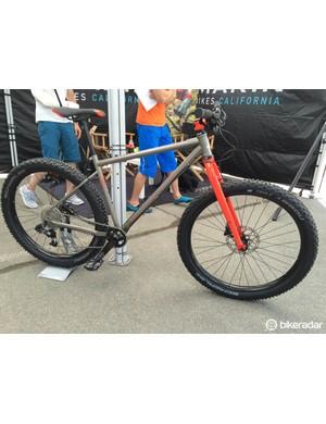 The retro flavoured Pine Mountain One 27 plus bike