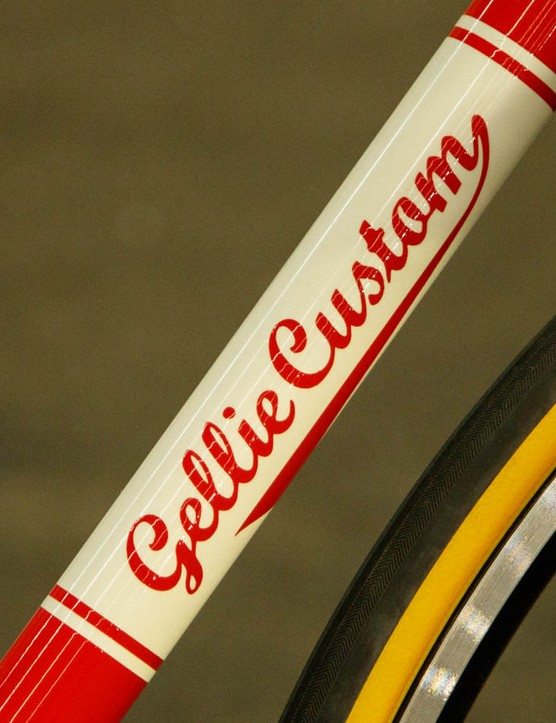 Ewen, the man behind Gellie Custom has been building frames for a long time