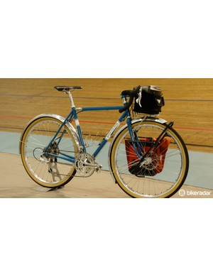The Gellie Atera is built with Randonneur/Gravel/Touring/Travel in mind