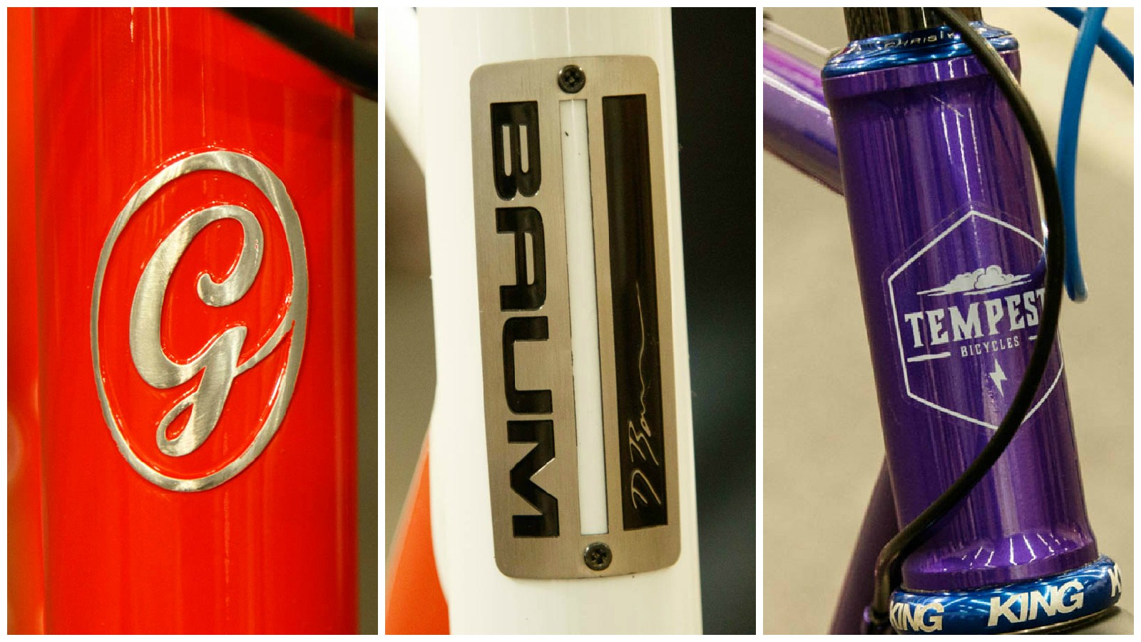 In this first article, we take a brief look at frames from Gellie Custom, Baum Cycles and Tempest Bicycles