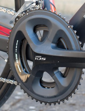 Shimano 105 throughout for the Avro 02
