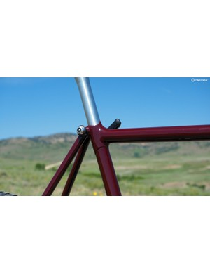 Steve Potts is today better known for his work in titanium but back in the late 1980s, he was all about beautiful fillet brazed steel