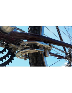 Chainstay-mounted brakes are hardly a modern concept