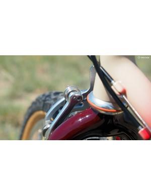 The WTB Speedmaster Rollercam brakes feature adjustable geometry