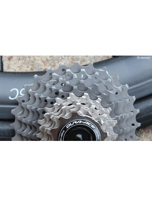 A mix of materials is used for the cogs to balance weight with longevity