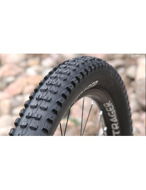 The SE5 is an enduro-focused version of the popular Bontrager G5 tread