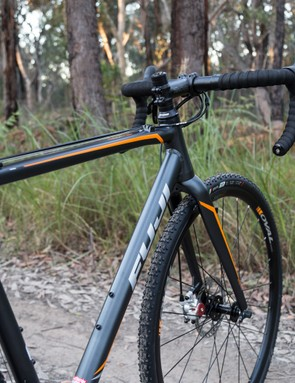 Despite the upright riding position, the Cross 1.3 is an exciting ride