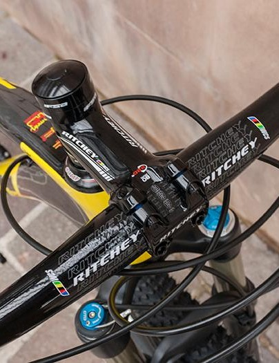 Ritchey components provide control at the front