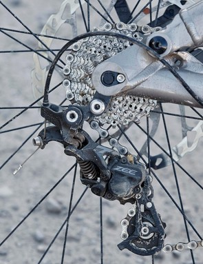 Shimano's Zee transmission is solid and reliable