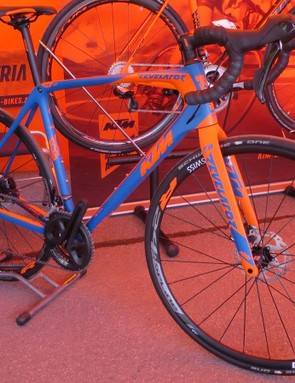 The new Revelator Sky disc bike starts with this Sky blue model at £2,799