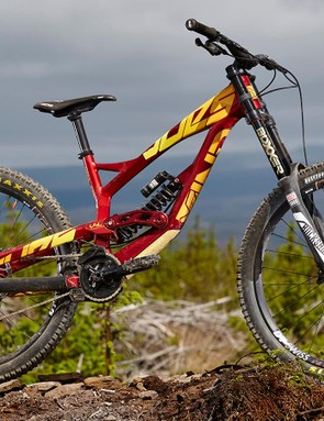 YT Industries' Tues AL Comp downhill bike divided opinion with its looks, but it certainly means business