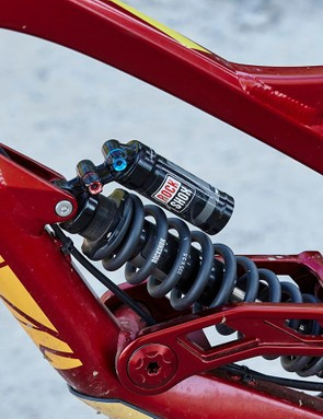 It's easy to get the Vivid R2C shock tweaked to your requirements –though it's not ideal for the lightest riders