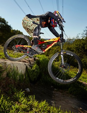 The Tues may not be the lightest bike but it's lively enough on the trail to ensure things are always fun