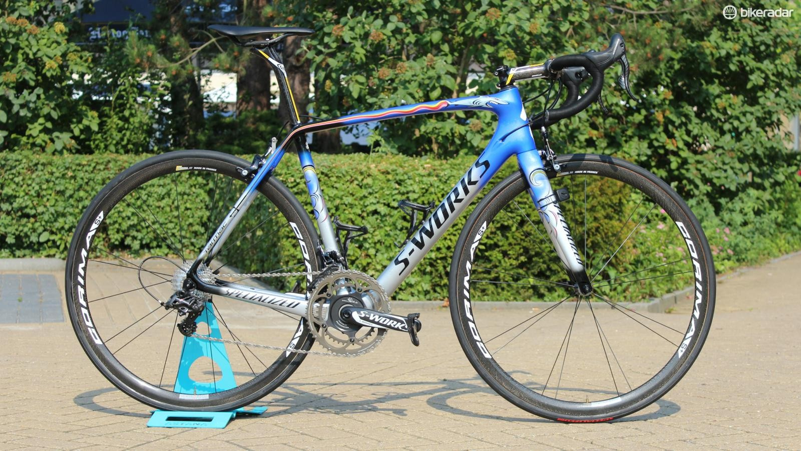 Vincenzo Nibali's Specialized S-Works Tarmac