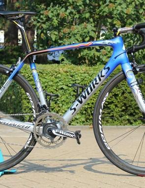 Vincenzo Nibali's Specialized S-Works Tarmac