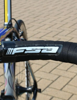 While the custom paint looks great, the FSA stickers do not