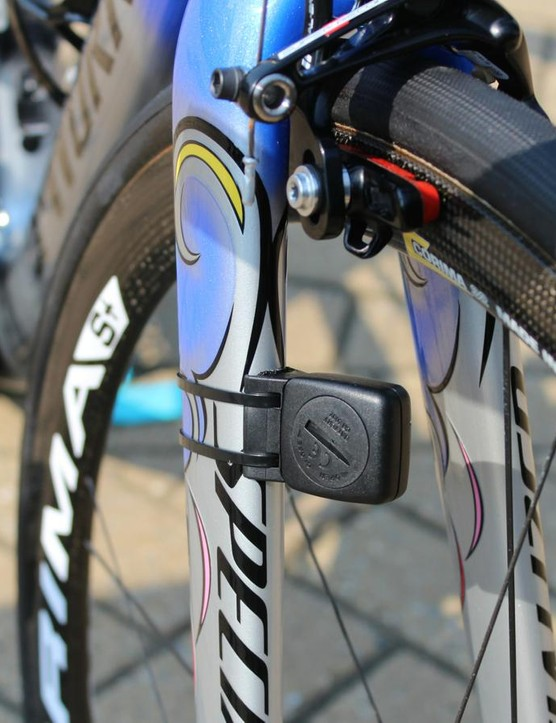 It may seem a little retro, but many riders still use wheel magnets for accurate speed and distance