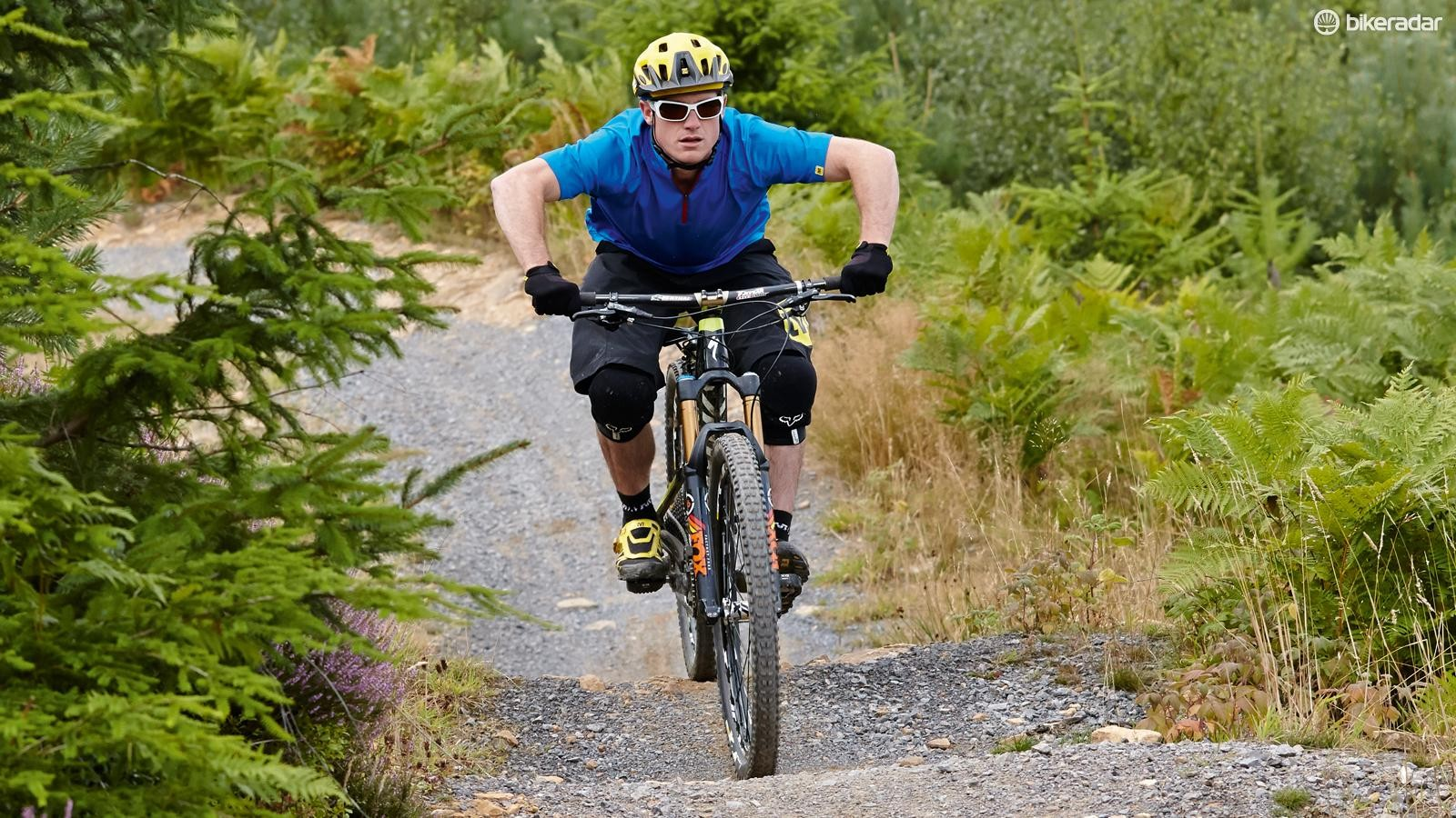 3. Push down through your legs to generate momentum