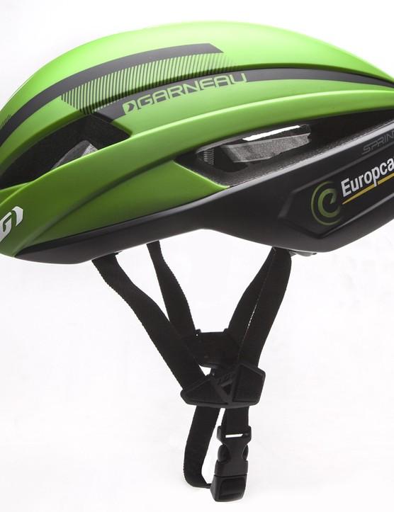 The Garneau Sprint Europcar helmet
