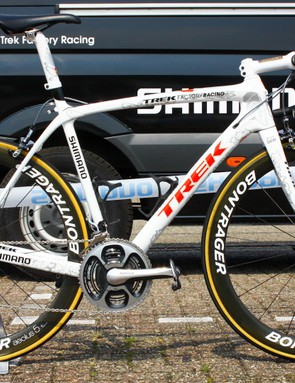 Fabian Cancellara's Trek Domane from the 2015 Tour de France