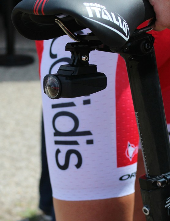 Shimano cameras are again in use at this year's Tour