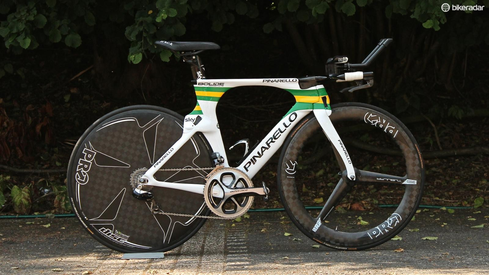 The fastest Aussie on two wheels: Richie Porte's Pinarello Bolide