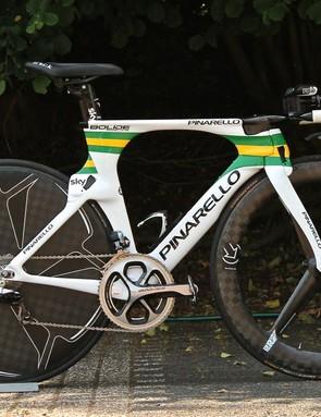 The fastest Aussie on two wheels: Richie Porte's Pinarello Bolide