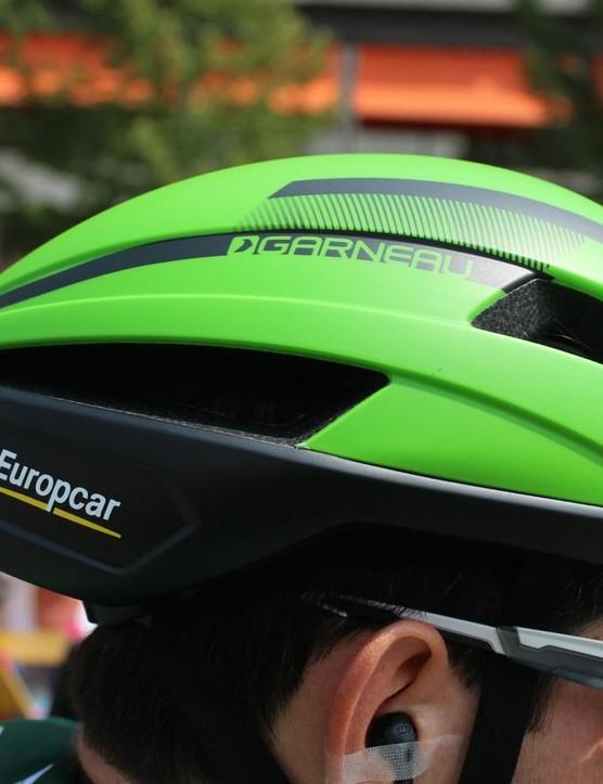 The Garneau Sprint has a longer back than standard helmet
