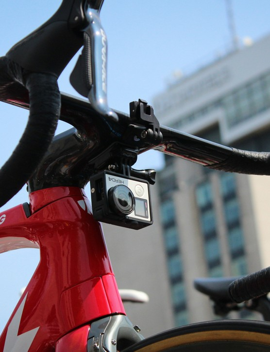 GoPro has 12 cameras in the race that are circulating among different teams each day