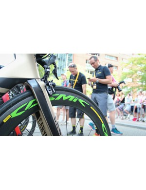 Kristoff has been racing Mavic's CXR60s with great success this year