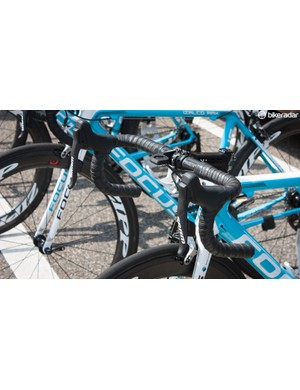 AG2R had plenty of SRAM electric groupsets on show. Surely it's nearly time to let everyone else try it too
