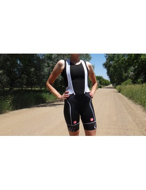 With a classic strap design, Castelli offers a straightforward fit with the Free Aero Race Bibs
