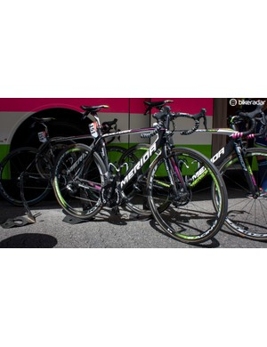 Rui Costa has chosen the ultra light Merida Scultura rather than the more aerodynamic Reacto
