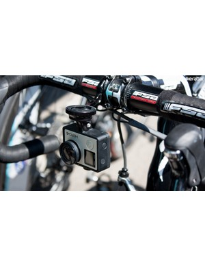 We might well see more clever GoPro mounts like this K-Edge model appear if the company maintains its presence in the peloton