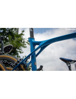 The seat / top tube junction on the Lapierre Xelius SL