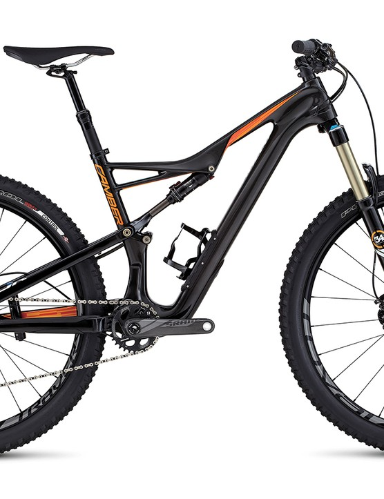 The 2016 Camber Expert Carbon (available in 650b or 29)