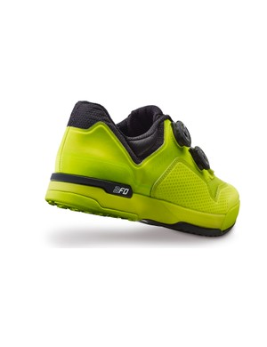 An EVA padded construction should make walking more comfortable (pictured is the Women's 2FO ClipLite in a Hyper Green/Black