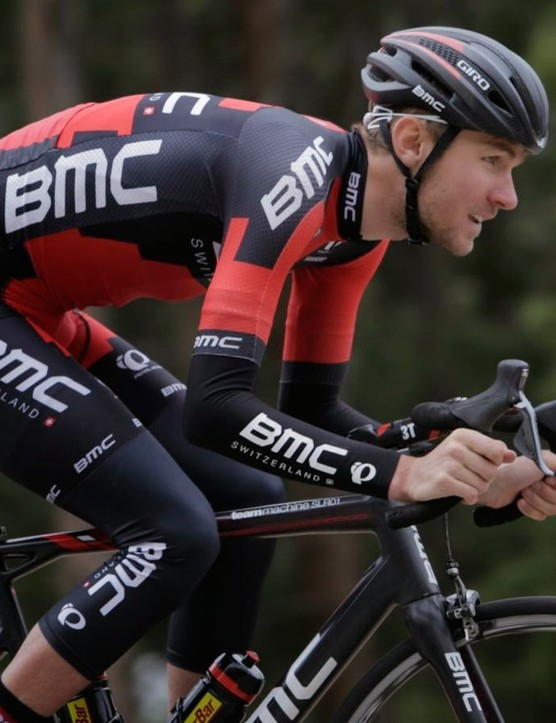 Giro already had one rider, Rohan Dennis, in yellow on stage 2. They are hoping Tejay van Garderen can ride his way into a yellow Giro Synthe MIPS, too